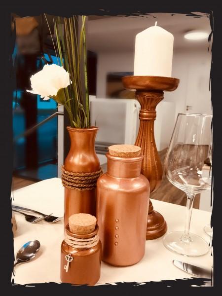 Tischdeko Set Kupfer