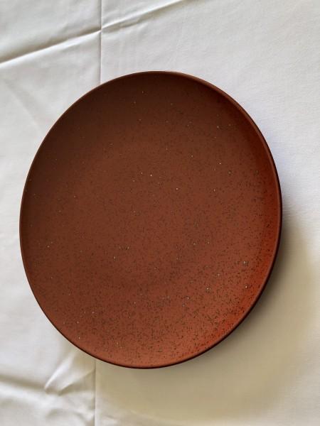 Teller flach Kupfer 30cm